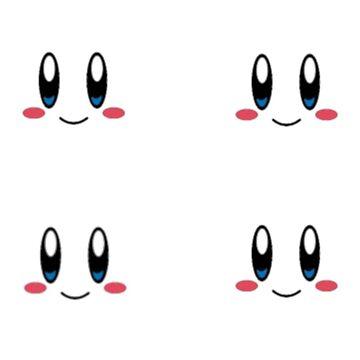 Kirby EX stickers by TheKalebFishStore