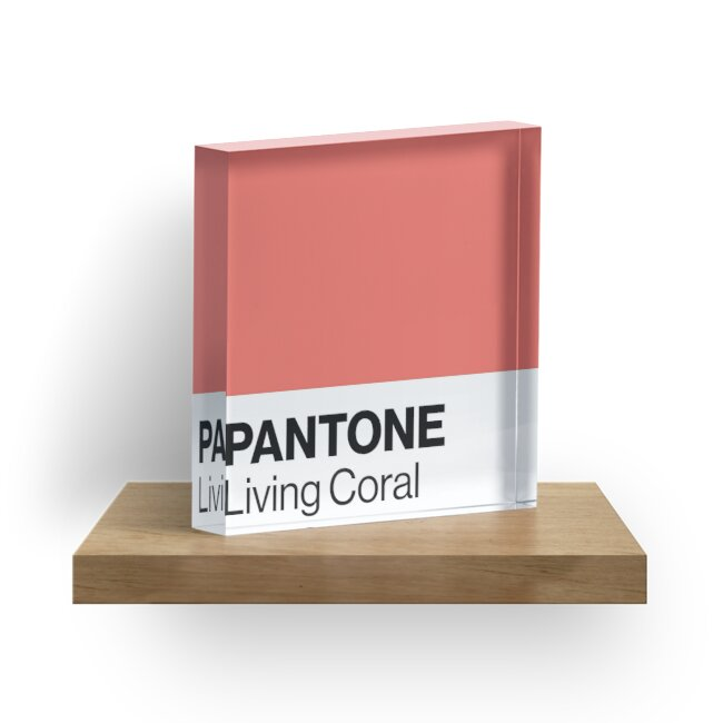Pantone Living Coral - Color of the year 2019 by Chloé Fortin Côté