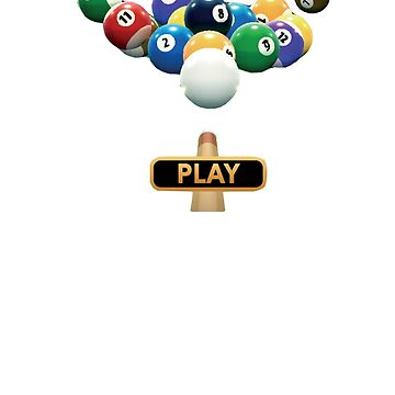 Funny Billiards Gift T Shirt For Pool Player by jimwest001