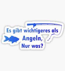 Big fish | Angler fishing license fisherman gift Sticker