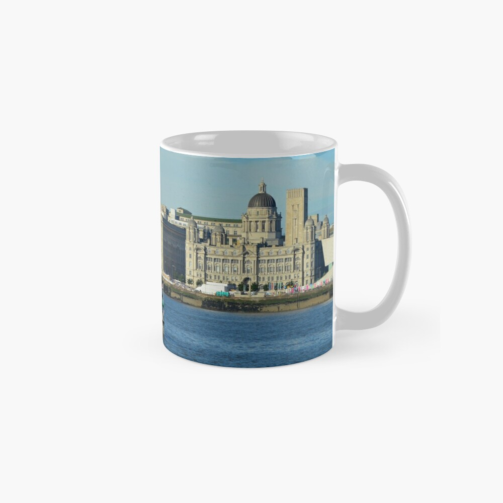 Liverpool Waterfront and Mersey Ferry Mug