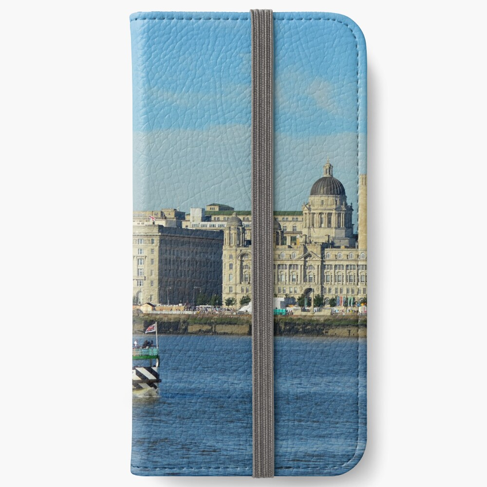 Liverpool Waterfront and Mersey Ferry iPhone Wallet