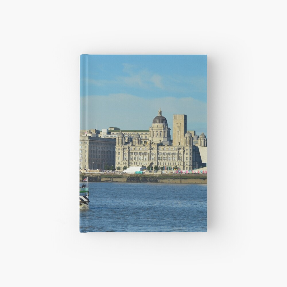 Liverpool Waterfront and Mersey Ferry Hardcover Journal