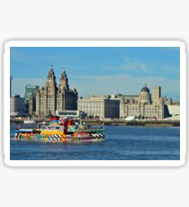 Liverpool Waterfront and Mersey Ferry Sticker