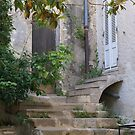 Ramatuelle, Provence, France, old house entrance by BronReid
