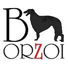 BORZOI by Happy Dog Swag