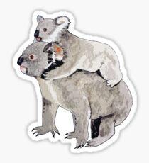 Koala T-shirt -- Mum with baby Sticker