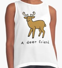 A Deer Friend Sleeveless Top