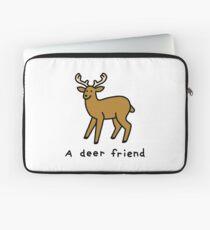 A Deer Friend Laptop Sleeve