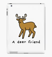 A Deer Friend iPad Case/Skin