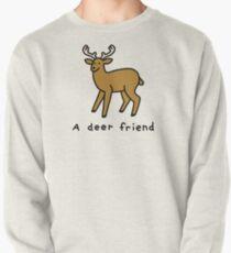 A Deer Friend Pullover Sweatshirt