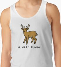 A Deer Friend Tank Top