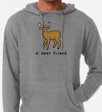 A Deer Friend Lightweight Hoodie
