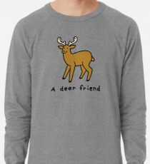 A Deer Friend Lightweight Sweatshirt