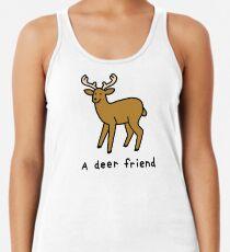 A Deer Friend Racerback Tank Top