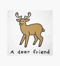 A Deer Friend Scarf