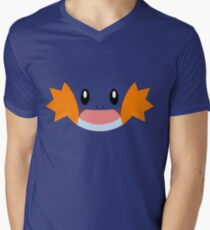 Pokemon - Mudkip / Mizugorou Men's V-Neck T-Shirt