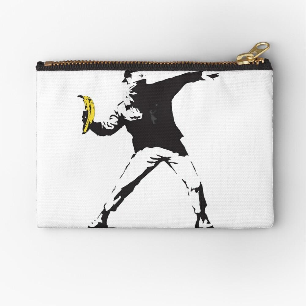 Banksy underground 2 Zipper Pouch