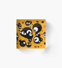 big-eyed 8 Acrylic Block