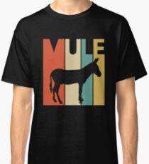 Vintage Retro Mule Classic T-Shirt