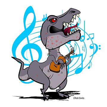 T-Rex Ukulele by Kowulz