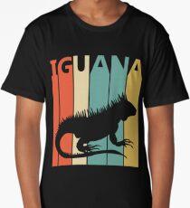 Vintage Retro Iguana Long T-Shirt