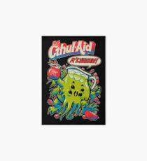 CTHUL-AID Art Board Print