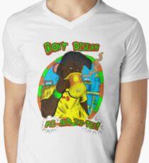 Don't disturb me and my tea Men's V-Neck T-Shirt