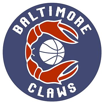 BALTIMORE CLAWS RETRO STICKER by Motion45