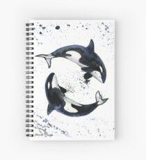 Orcas Spiral Notebook