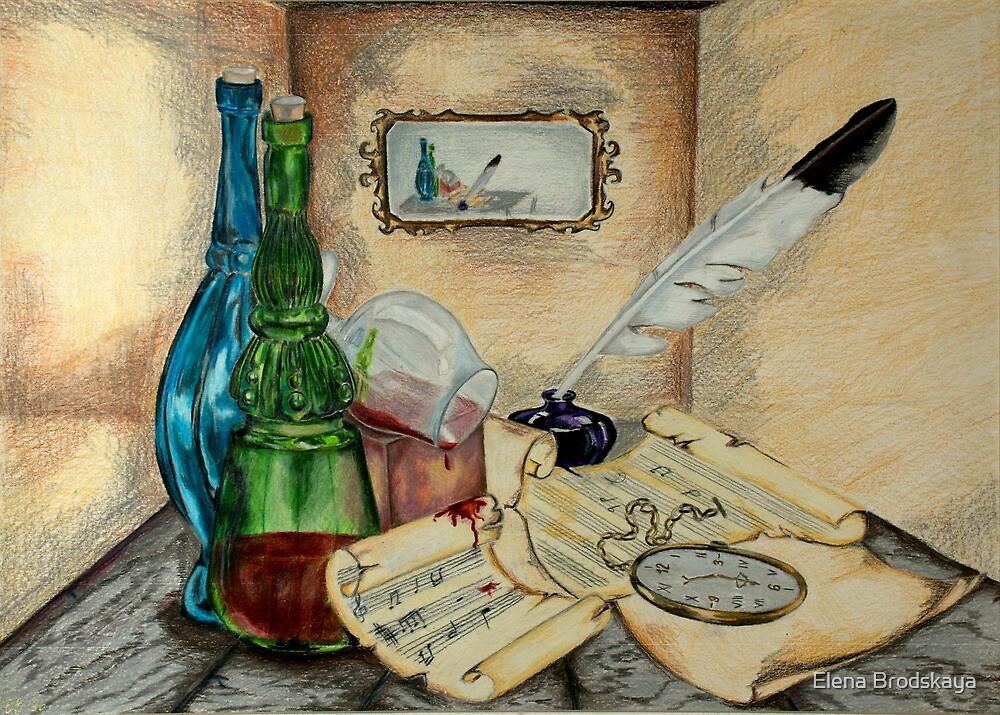 Deadlines and Genius... by Elena Brodskaya