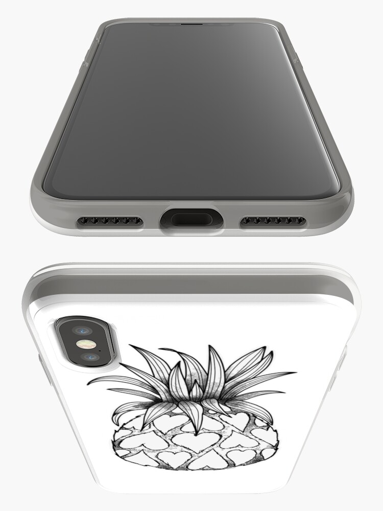 Alternate view of Just add Colour - Love Pineapple! iPhone Cases & Covers