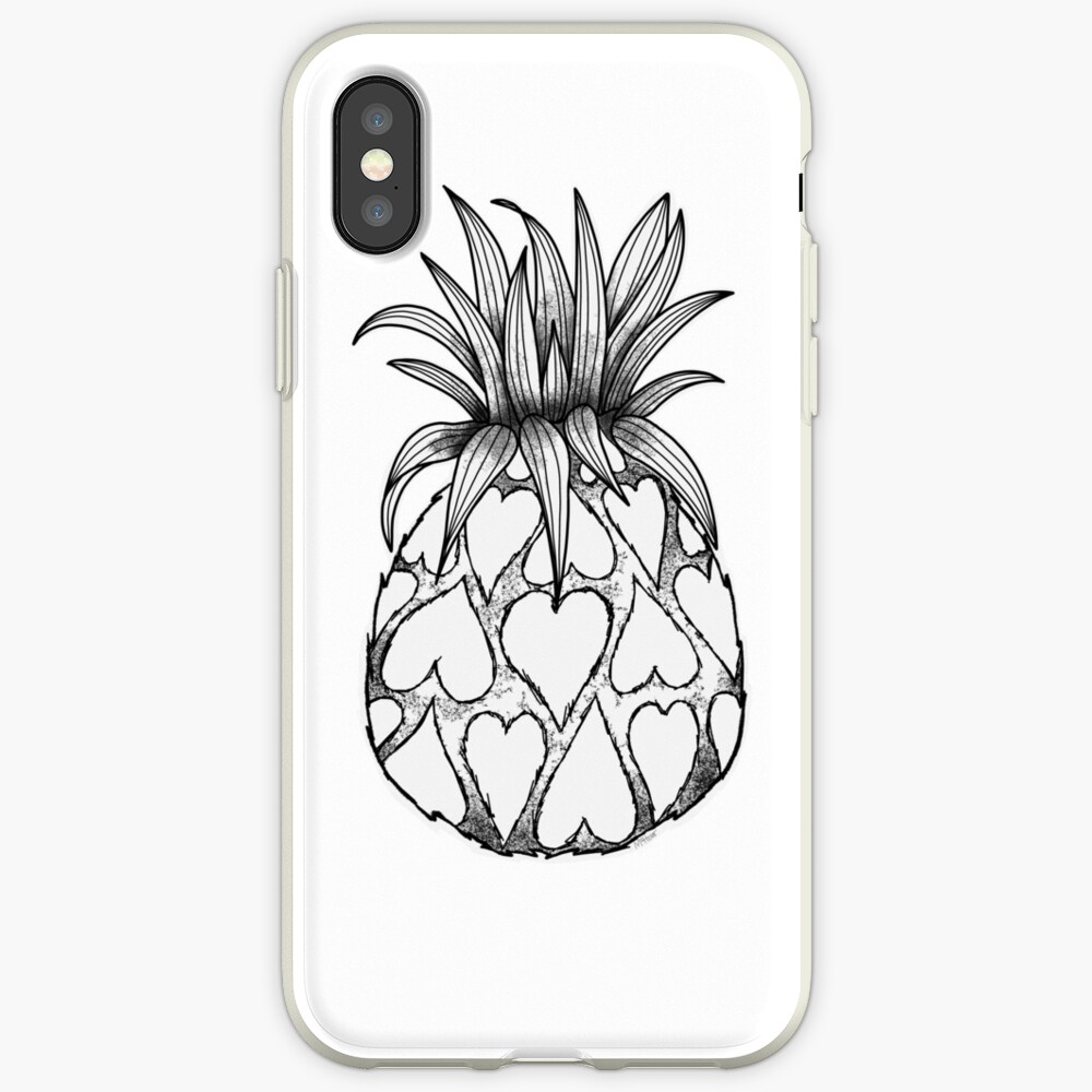 Just add Colour - Love Pineapple! iPhone Cases & Covers