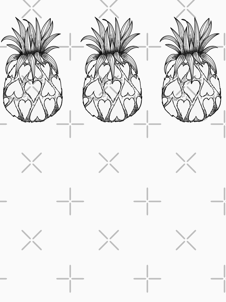 Just add Colour - Love Pineapple! by FunkiFish