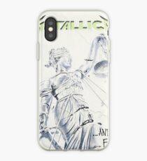 Vinilo o funda para iPhone Metallica y justicia para todos.