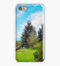 Springtime View from Home, Vancouver BC iPhone Case/Skin