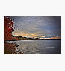 New York's Salmon river reservoir  I Photographic Print