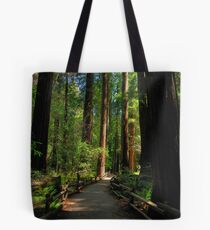 Alone With Giants - Muir Woods National Monument Tote Bag