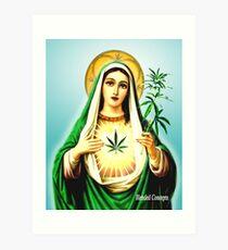 Mother Mary Jane Art Print