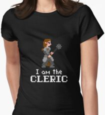 I am the (lady) Cleric Womens Fitted T-Shirt