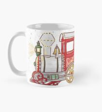 Santa Clause Is Coming To Town Toy Train Mug