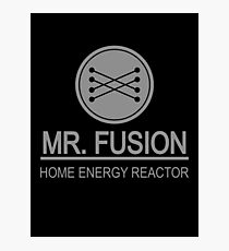 Mr Fusion Photographic Print