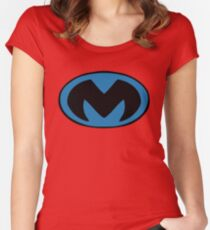 Midway Monsters Logo - Mutant League  Women's Fitted Scoop T-Shirt