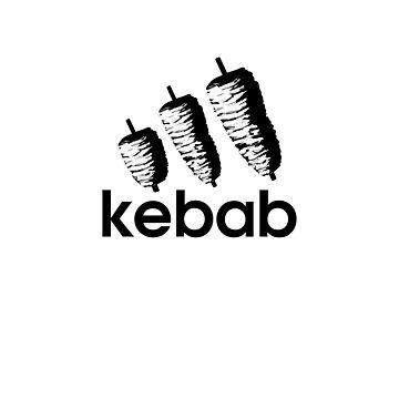 Funny Kebab | Digital Art by CarlosV