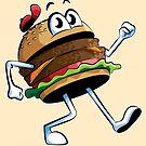 Burger Time by Stephen Hartman
