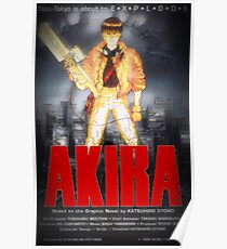 Póster Akira Movie Poster - Dark