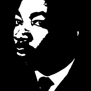Martin Luther King - Black and White by MelanixStyles
