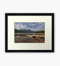 Vermillion Framed Print