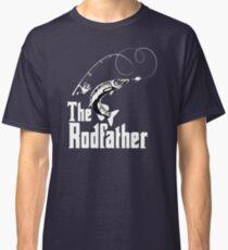 The Rodfather Fishing T Shirt Classic T-Shirt