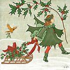 Holly Fairy Harvesting  by tinaschofield